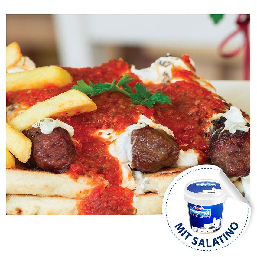Jaourtlou Kebab mit Kri Kri Salatino